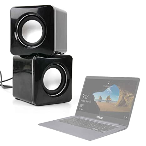 DURAGADGET Altavoces Compactos para Portátil HP OMEN 15-ce016ns, ASUS FX504GE-DM198T,