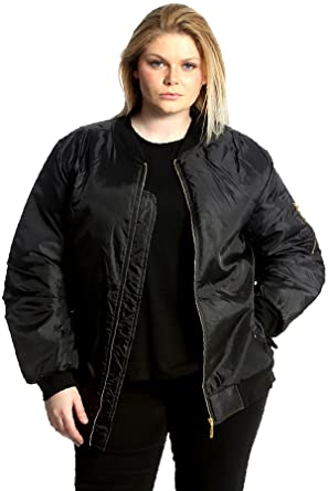 49d114cefa4 Nouvelle Collection New Womens Plus Size Jacket Ladies Padded Bomber ...