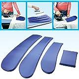Plancha ayuda de planchar ayuda Juego para mangas y bolsillos 4piezas)