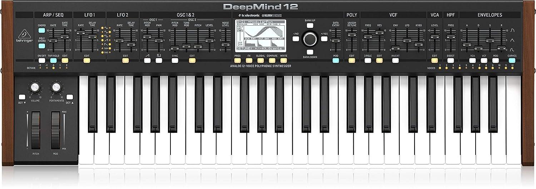Amazon.com: BEHRINGER DEEPMIND 12 Sintetizador.: Musical ...
