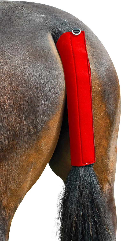 Hunters Saddlery - Protector para la Cola de Caballo (Neopreno, Antideslizante, Transpirable, tamaño estándar)