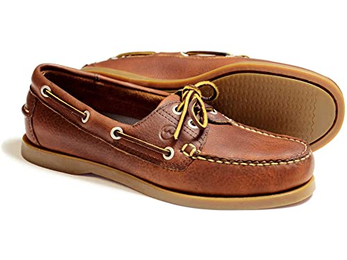 8a86c4907bca6 Orca Bay CREEK Havana Leather Boat Shoe (Ladies EU 40): Amazon.co.uk: Shoes  & Bags