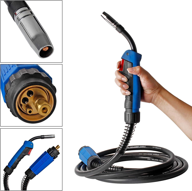 Forever Speed 4M MB15 MIG//MAG Welding Torch Lot de 4 br/ûleurs /à souder