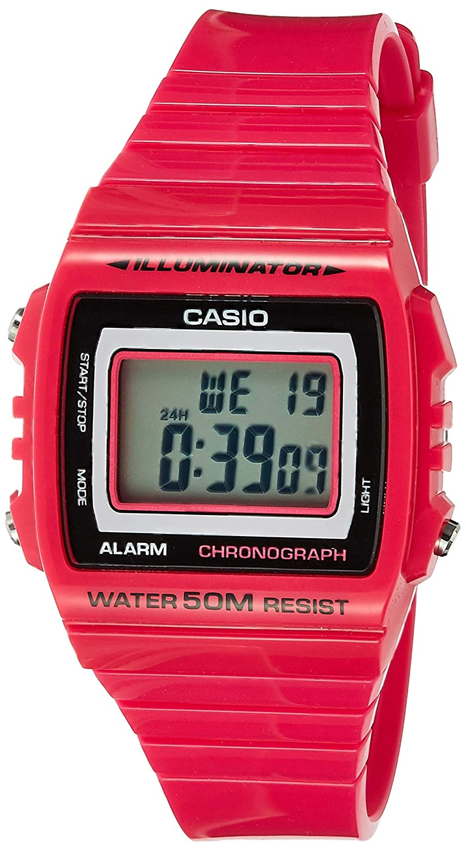 CASIO Reloj Digital para Mujer de japones FD con Correa en Acero Inoxidable 19818