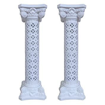 wedding decoration plastic roman column height adjustable garden decor ceremony reception decorative columns 2 column - Decorative Columns