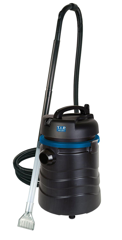 TIP 30517 Aspirador de lodos para estanques HNB 1600 E con modo automático de vaciado: Amazon.es: Jardín