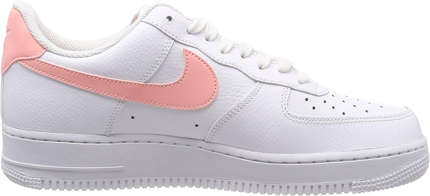 Nike Women's Air Force 1 '07 Patent Low Top Sneakers, White