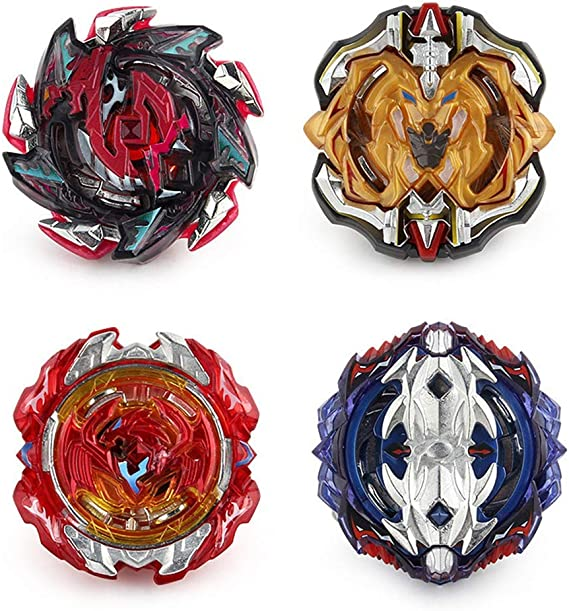 Ensemble de 4 pi/èces Gyro Beyblade Burst Gyro Speed Gyro Version am/élior/ée Bataille multijoueur Top Jeux Int/érieur Classique Jouet Combat Rapidity Fight
