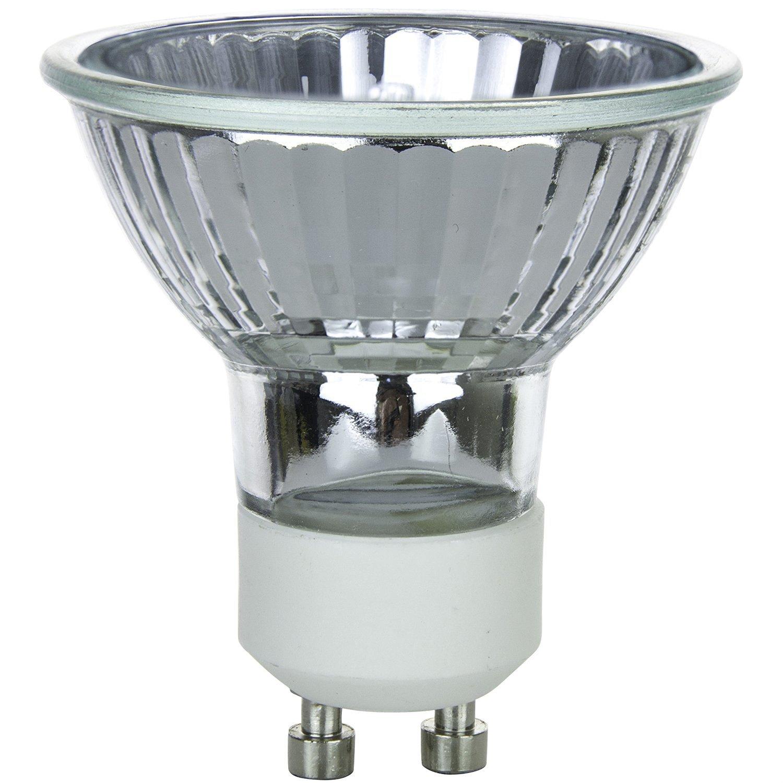 Gu10 Base: Pyramid Bulbs P64978 50 Watts Halogen Flood Light Bulbs
