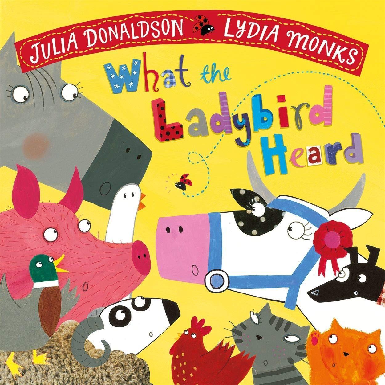 What the Ladybird Heard: Amazon.co.uk: Donaldson, Julia, Monks, Lydia: Books