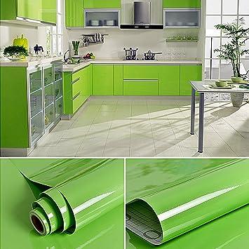 Willgou 5 x 0 61 m klebefolie küche schrankfolie pvc küchenfolie küchenschrank aufkleber wasserfest möbelfolie selbstklebend