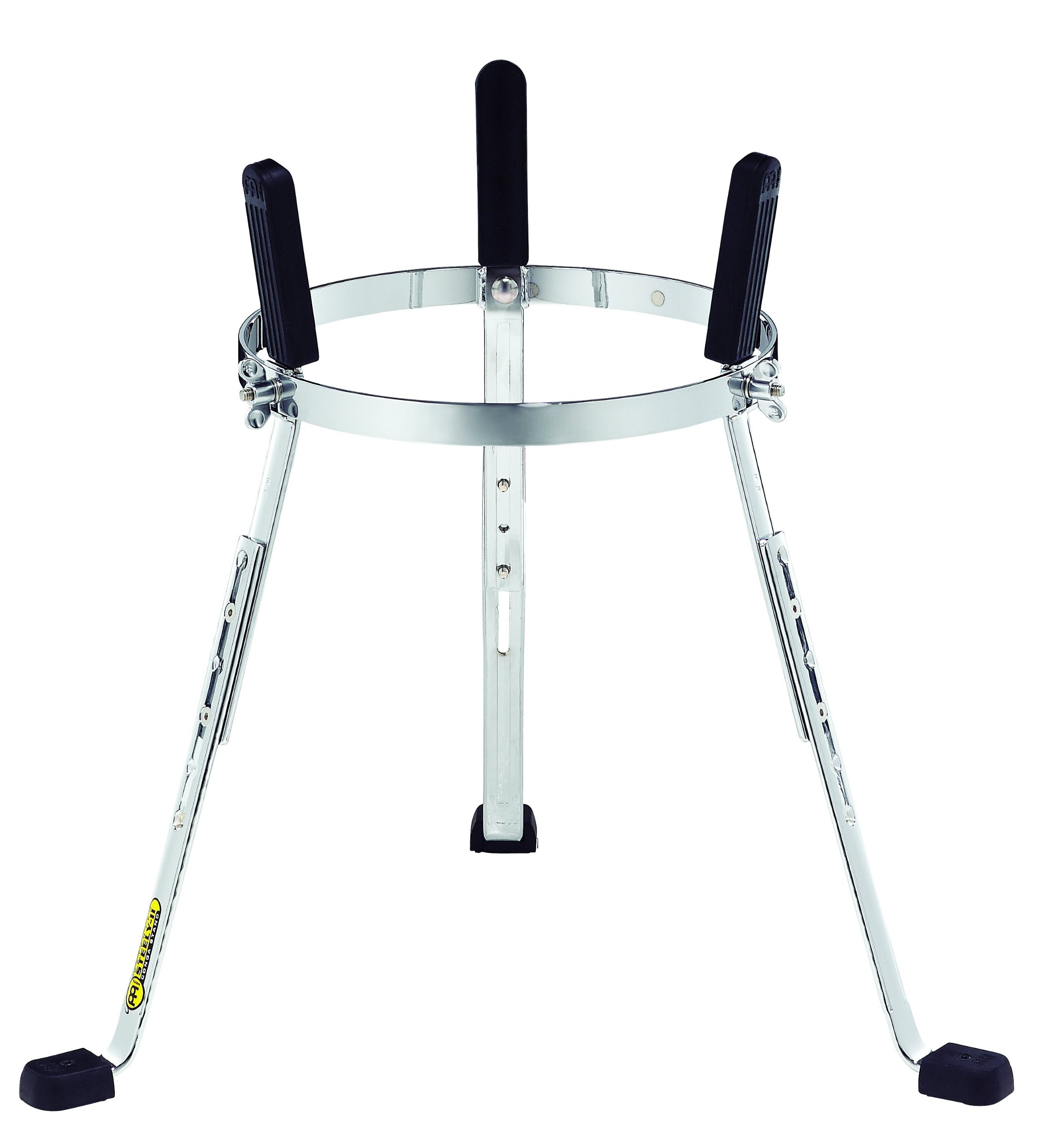 Meinl Percussion ST-MP1134CH Steely II Height Adjustable Stand for 11 3/4-Inch MEINL Professional Congas, Chrome