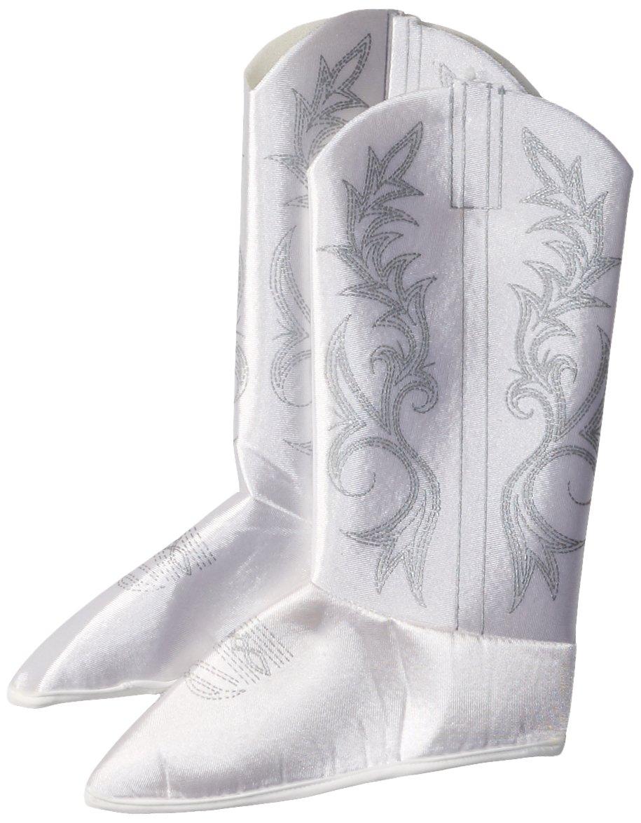 Rubie's Dallas Cowboys Cheerleader Child's Costume boot-tops, White