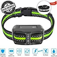 DB DEGBIT Bark Collar [2020 Newest][Long Battery Life], No-False Dog Bark Collar with 3…