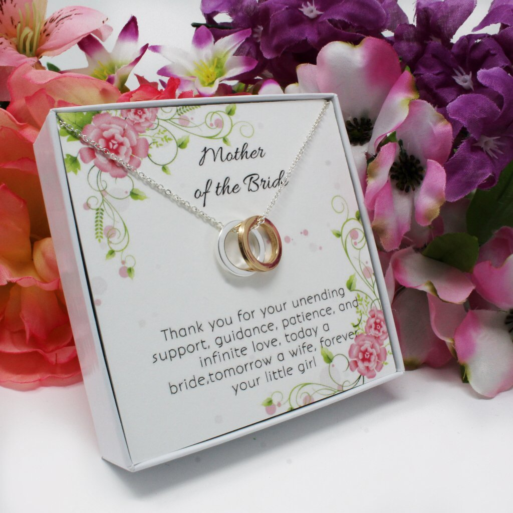 OnePurpose Mother of the Bride/Groom Gifts (Gold/Silver Bride) by OnePurposeGifts (Image #2)