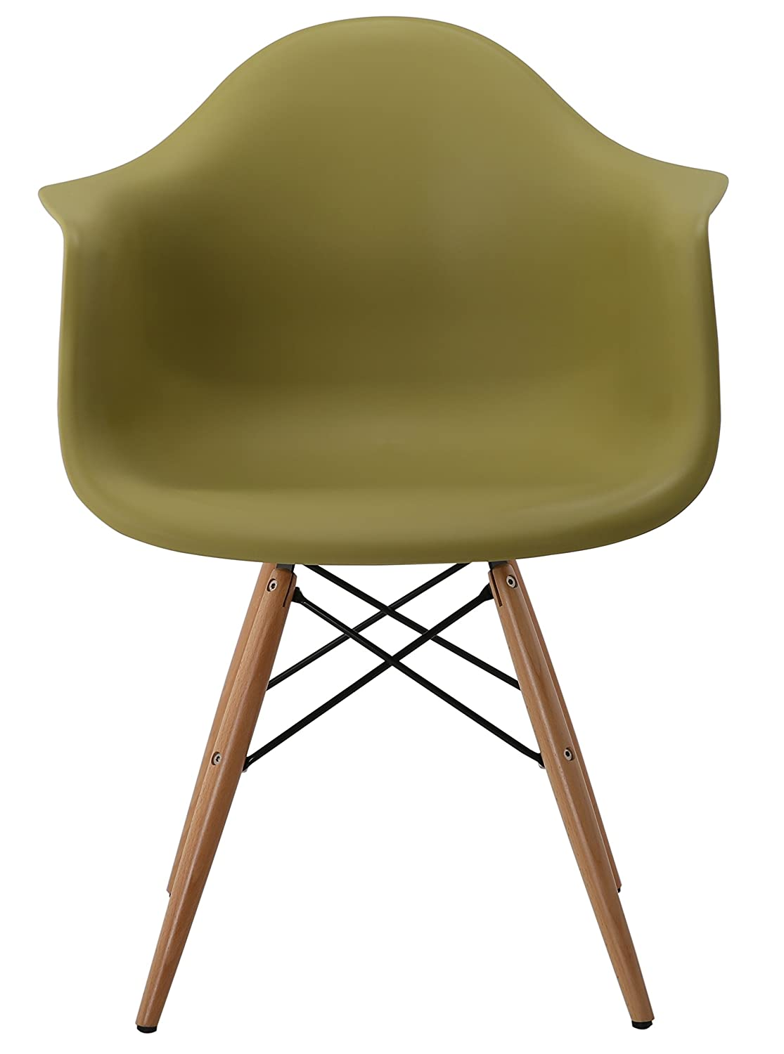 Eames Inspire DAW Dining Plastic Chairs Lounge Armchair Office ...