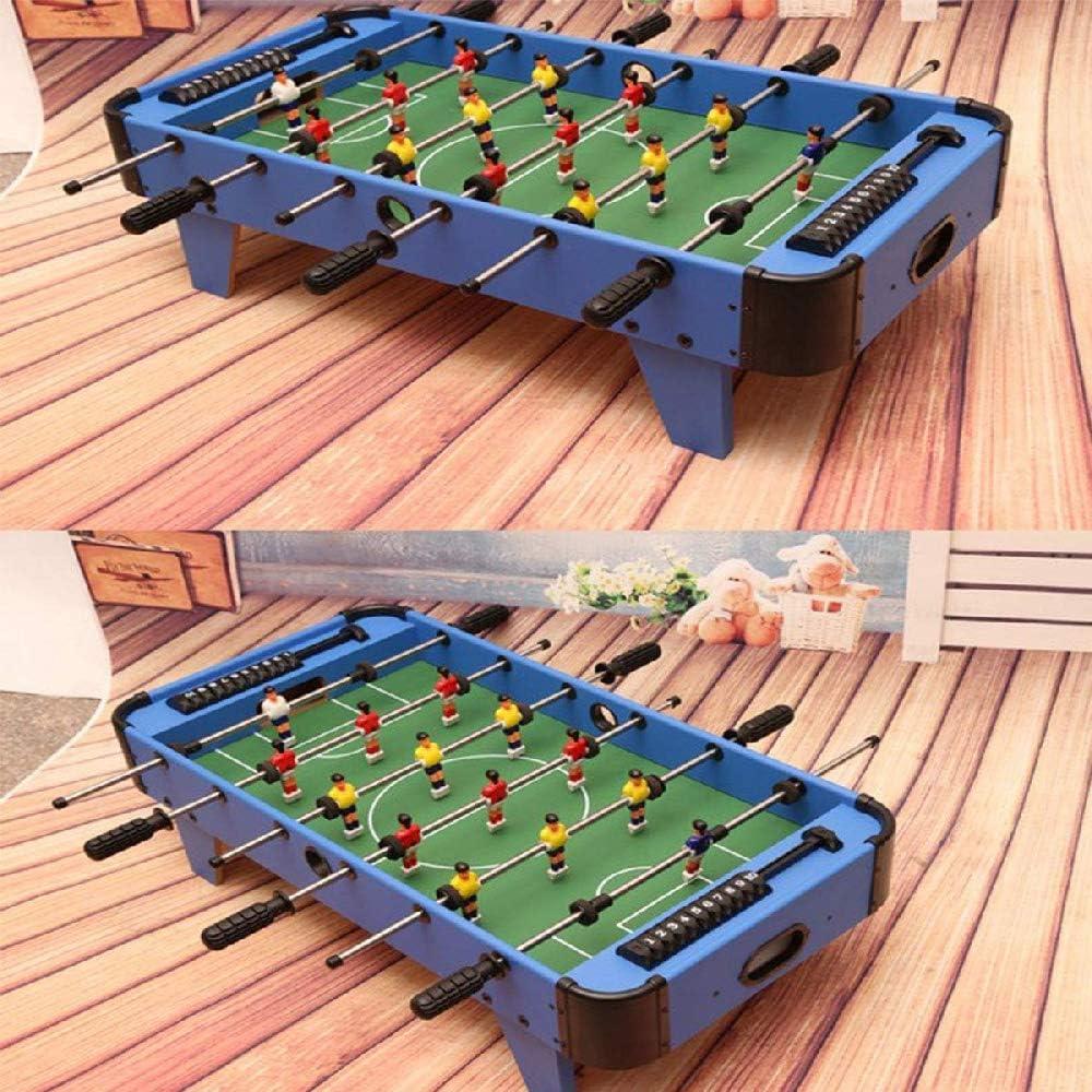 YQSHYP Mini Futbolín, Pino Laminado combinación Estable del Juego ...