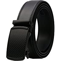 14e6048686b3 Lavemi Men s Real Leather Ratchet Dress Belt with Automatic Buckle