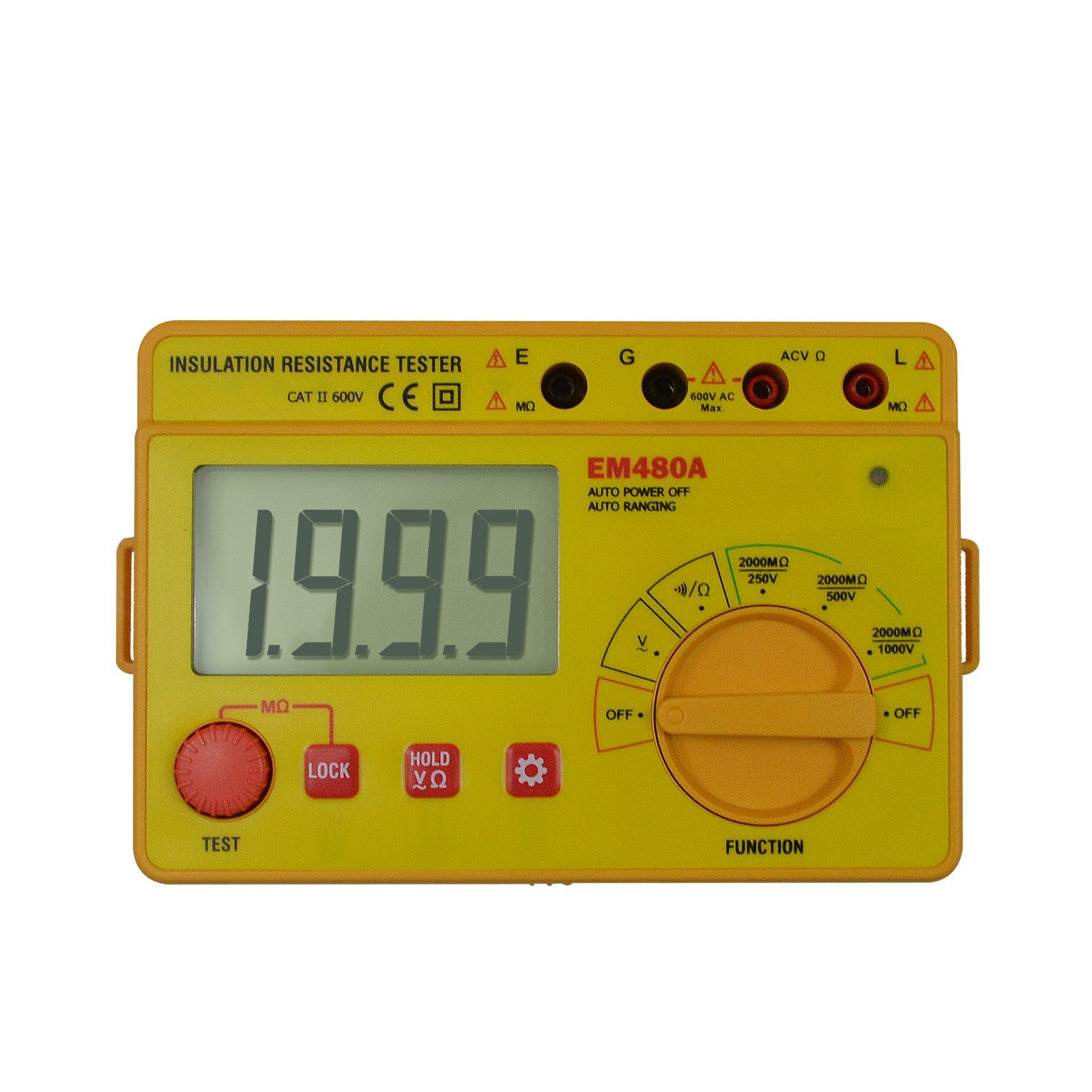 all-sun Digital Insulation resistance tester & Auto-range DC AC Voltage Megohm Meter