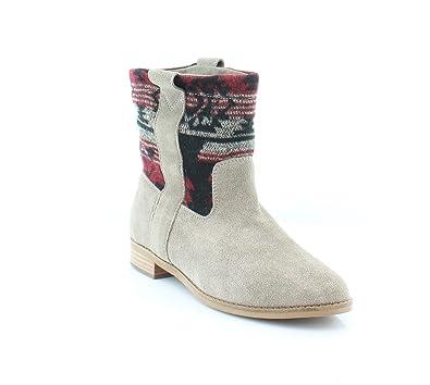 52f986d2aac TOMS Laurel - Desert Taupe Suede Textile (Beige) Womens Boots 7 UK   Amazon.co.uk  Shoes   Bags