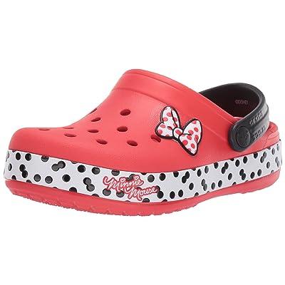 Amazon.com | Crocs Women's Boys and Girls Minnie Dots Clog | Mules & Clogs