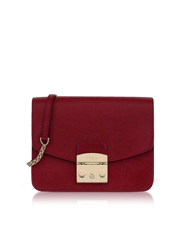 2d31ef1519 Furla Women's 978675 Burgundy Leather Shoulder Bag: Amazon.ca: Sports &  Outdoors