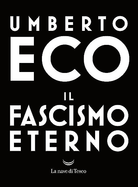 Il fascismo eterno (Italian Edition) eBook: Eco, Umberto: Amazon.es: Tienda Kindle