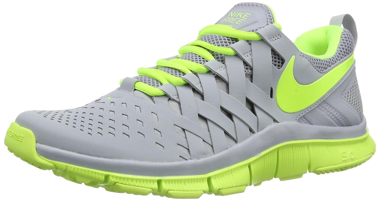 brand new 5e1bc 6e935 ... Amazon.com NIKE The Mens Free Trainer 5.0 Training Shoe Wolf Grey Volt  Running ...