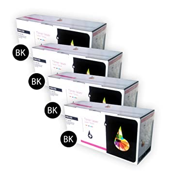 4 x Cartuchos de Toner Laser Negro Compatibles TN1050 para ...