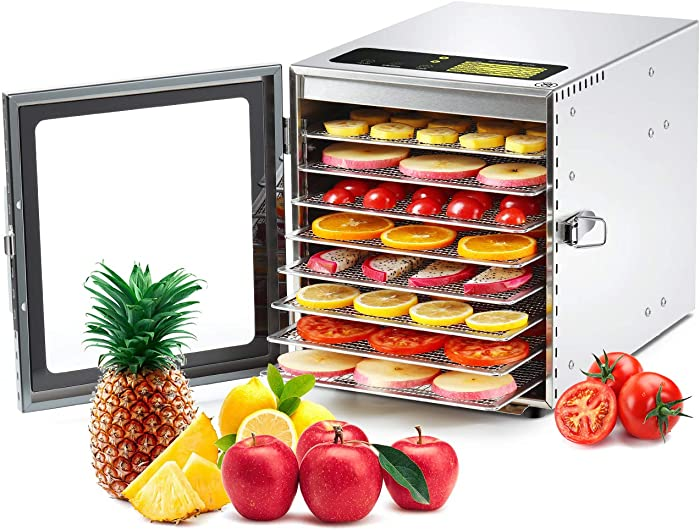 Top 10 Food Dehydrators Stanless Steel