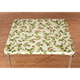Amazon Com 34 Quot Square Card Table Cover Home Amp Kitchen
