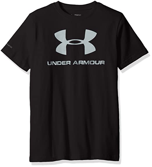 Under Armour Sportstyle Logo T-Shirt Black