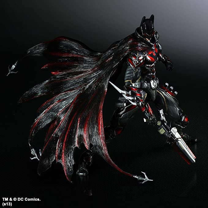 PVC Action Figure Variant Play Arts Kai Batman Limited Color Ver