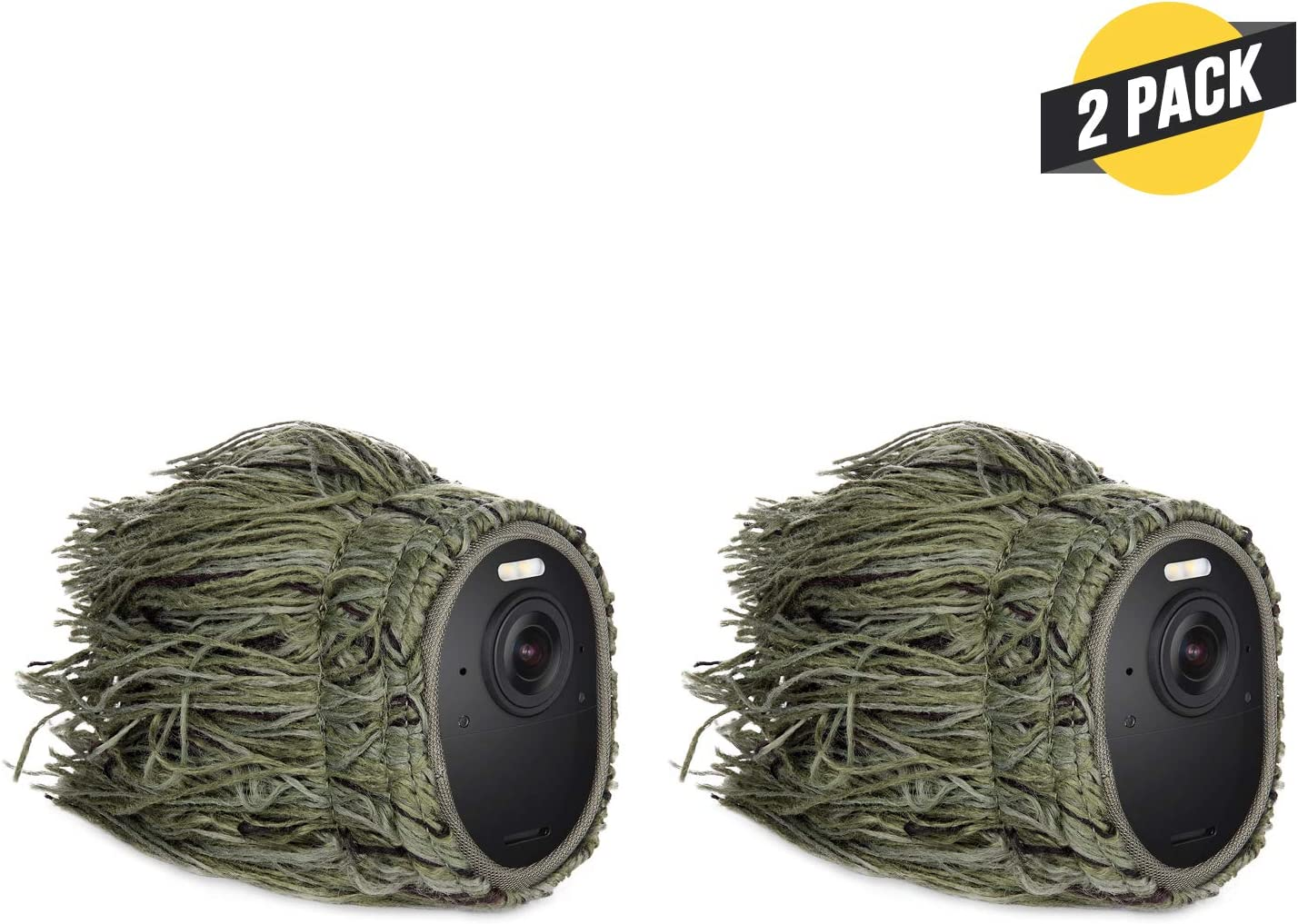 2 Pack Conceal and Protect Your Arlo Camera Ghillie Skin Compatible with Arlo Ultra