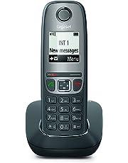 Gigaset AS475 - Teléfono inalámbrico Digital DECT - Exclusivo Amazon, Color Gris
