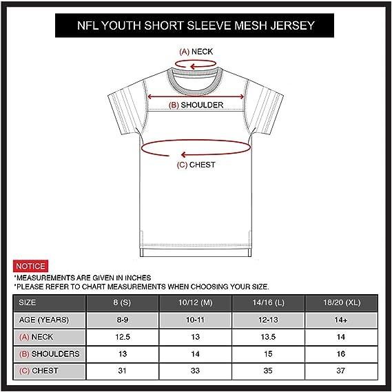 Ultra Game Boys Mesh Vintage Jersey Tee Shirt
