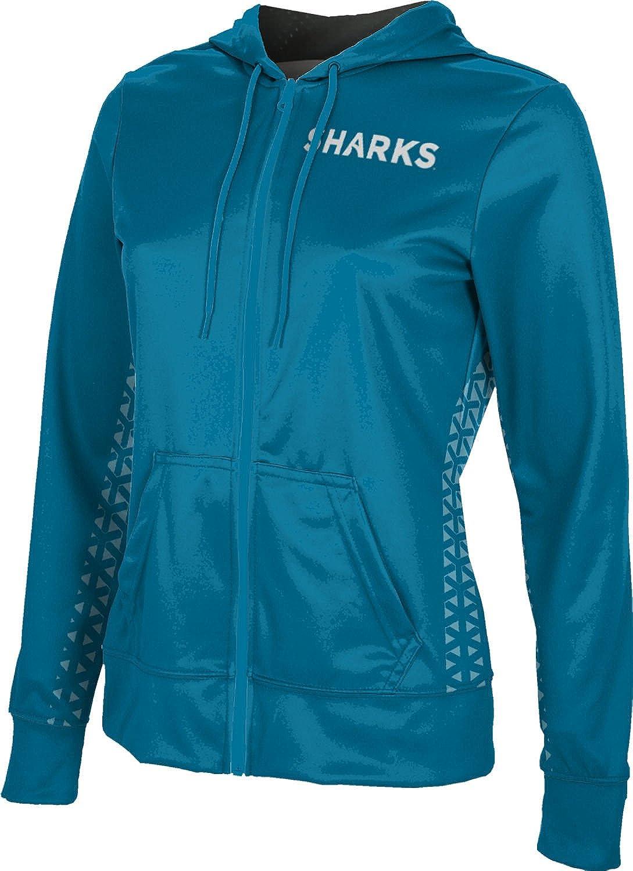ProSphere Hawaii Pacific University Girls Zipper Hoodie Geo School Spirit Sweatshirt
