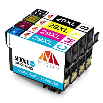 Mony Compatible Cartuchos de tinta Epson 29 XL 29XL (1 Negro ...