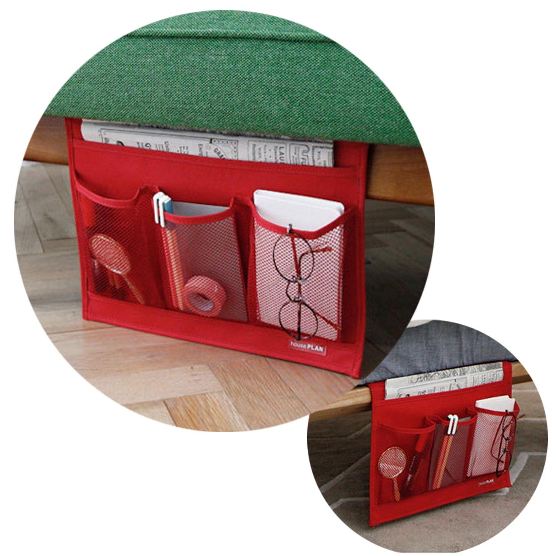 Gaorui Bedside Sofa Table Cabinet Storage Organizer Pocket Oxford Cloth Book Phone Bag Gaorui E-Commerce Co. Ltd HOUZWSNCD-KFw1