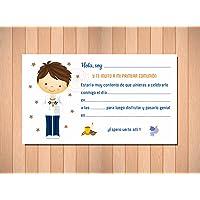 Invitaciones de Primera Comunión Niño Marinero - Muy