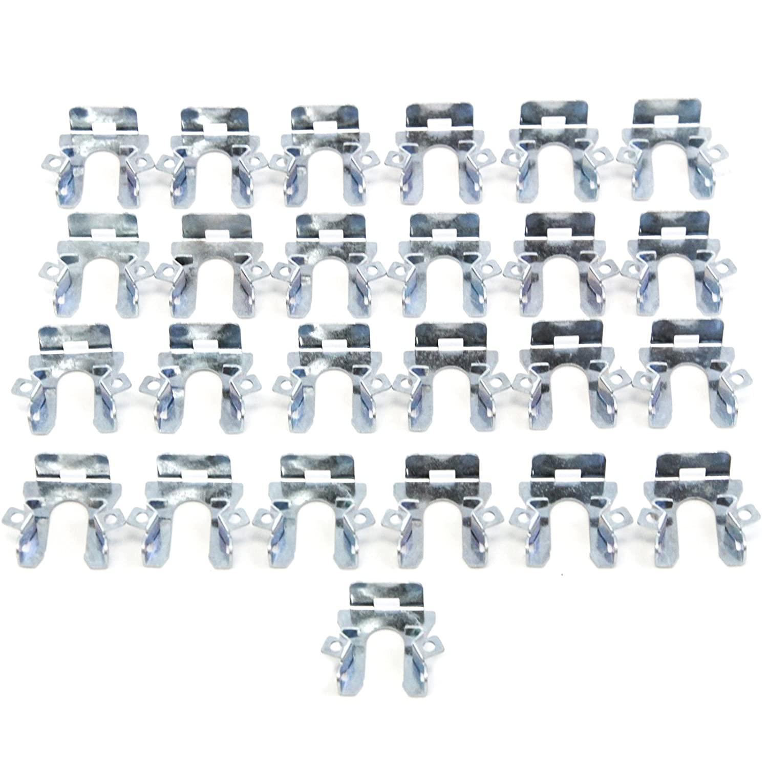 Red Hound Auto 12 Pivot Headlight Retaining Clips Compatible with Ford F-150 F-250 F-350 Bronco 1992-1996