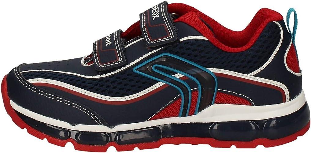 hasta ahora subterráneo Recordar  Geox Boys J Android C Sneaker, Black/Green, 1 UK: Amazon.co.uk: Shoes & Bags