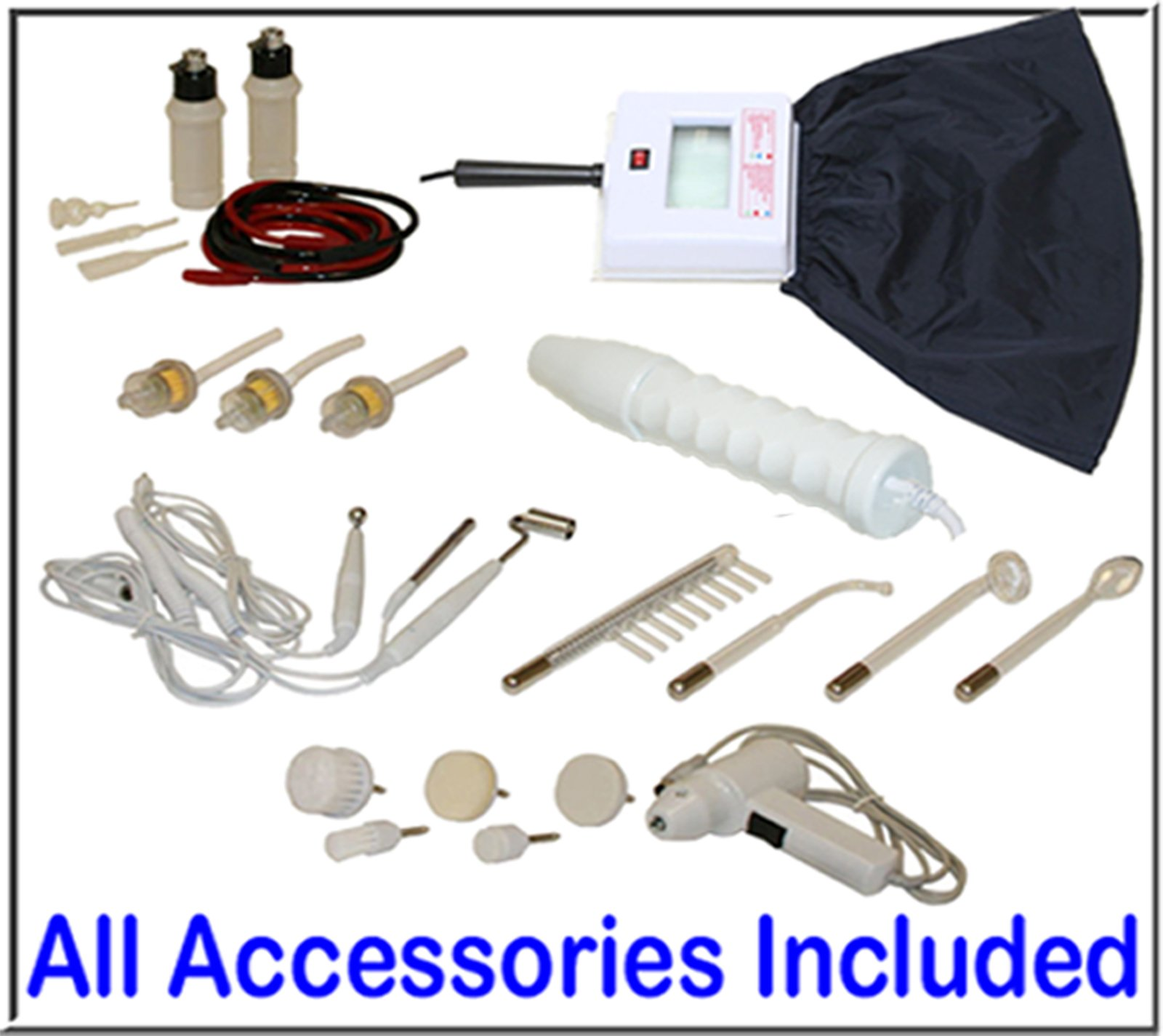 LCL Beauty 11 in 1 Multifunction Facial Machine & Fully Adjustable Hydraulic Bed Chair Package by LCL Beauty (Image #6)