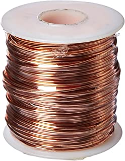 Amazon bare copper wire bright 14 awg 0064 diameter 80 arcor 447629 f16 bare wire 16 gauge 126 size copper keyboard keysfo Images