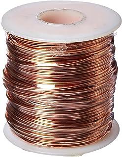 Copper alloy wire gauge size wire center amazon com bare copper wire bright 18 awg 0 04 diameter 195 rh amazon com solid copper wire size chart awg wire sizes keyboard keysfo Gallery