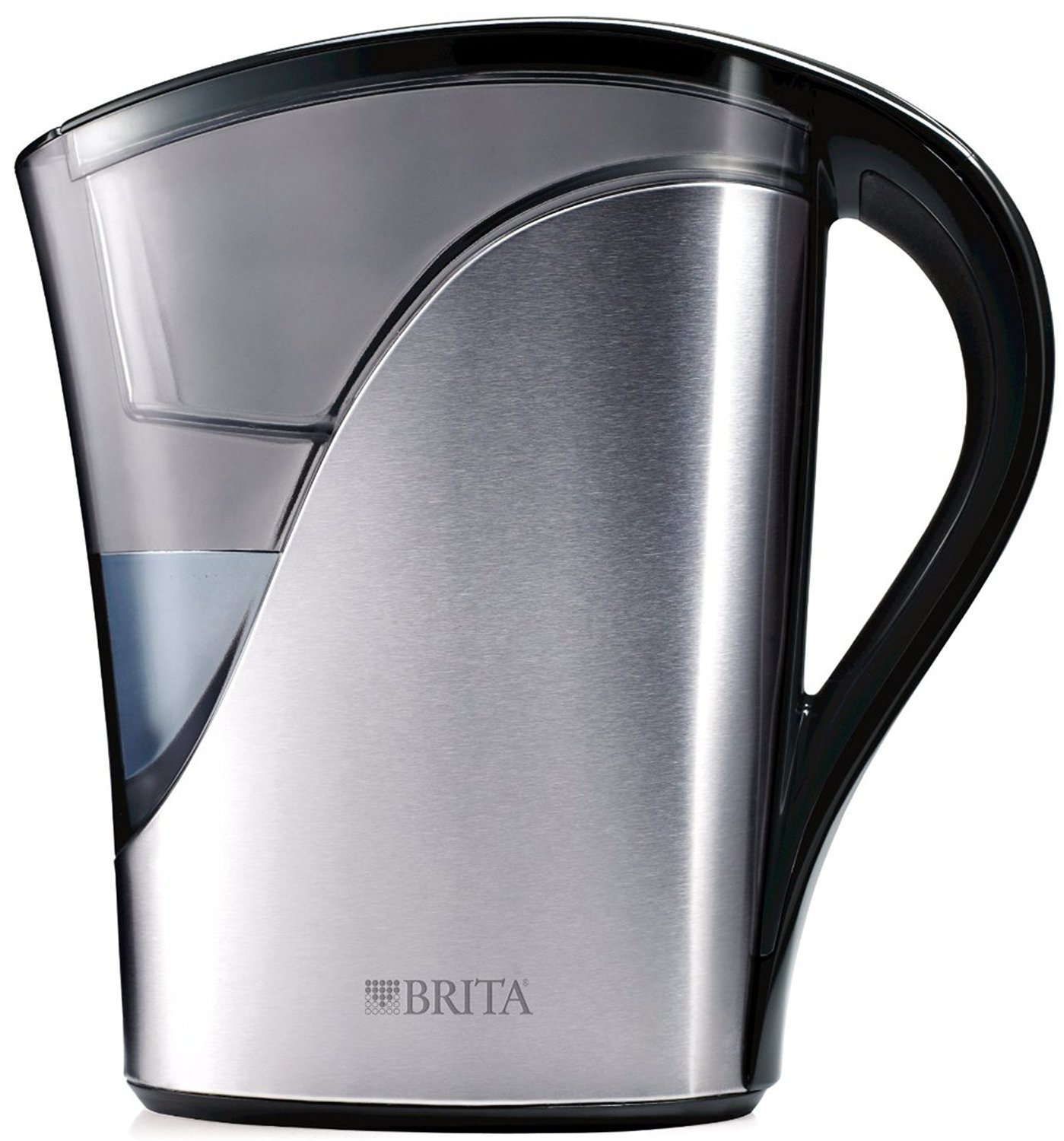 Amazon.com: Brita Stainless Steel Water Filter Pitcher, 8 Cups: Kitchen U0026  Dining