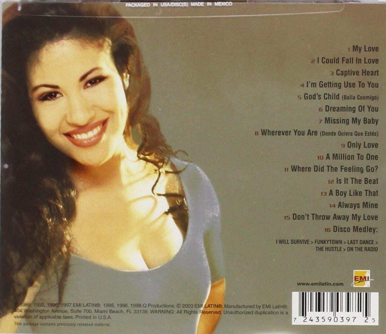 Selena - Greatest Hits by EMI Music Distribution (Image #2)
