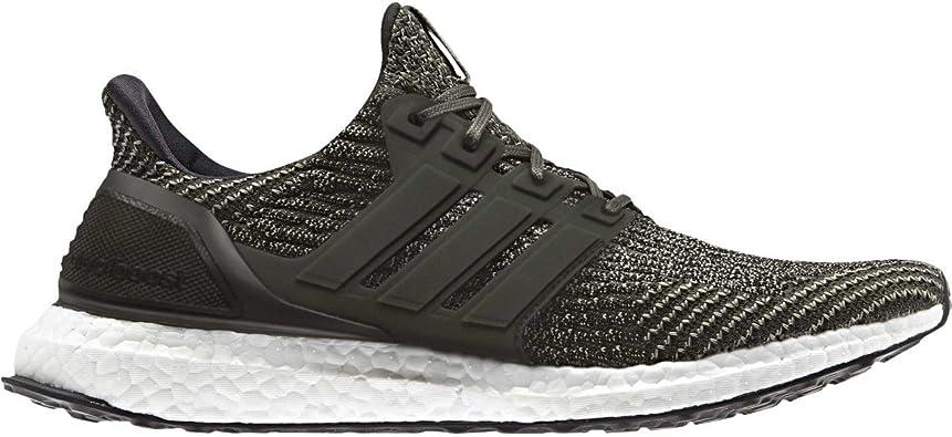 ADIDAS Ultra Boost 3.0 Hombre Atletismo Zapatos Estilo Cebo - Verde Blanco Negro, 30 EU: Amazon.es: Zapatos y complementos