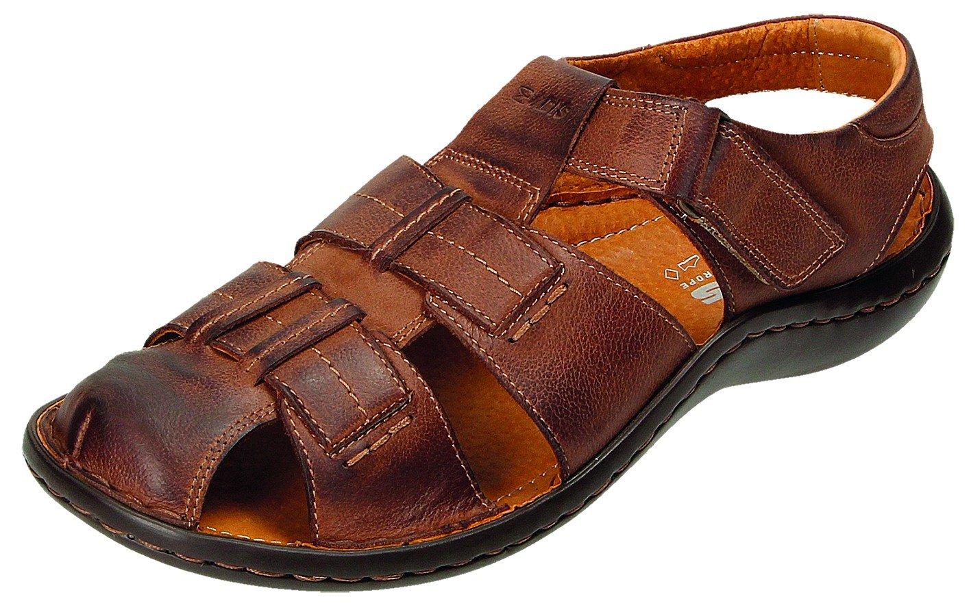 ABIS Sandalias de Vestir Para Hombre Marrón Marrón 43 EU|marrón