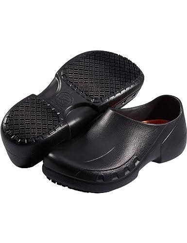Slip Resistant Chef Shoes Restaurant Non Slip Work Shoes for Men Women (10  M US 1244211eb4